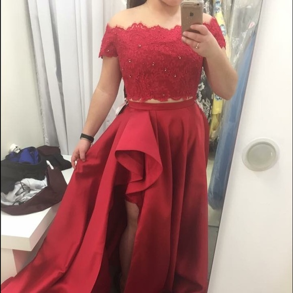 Sherri Hill Dresses | Beautiful Red Prom Dress Never Used | Poshmark